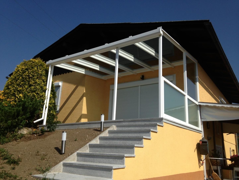 Terrassenüberdachung-Haus