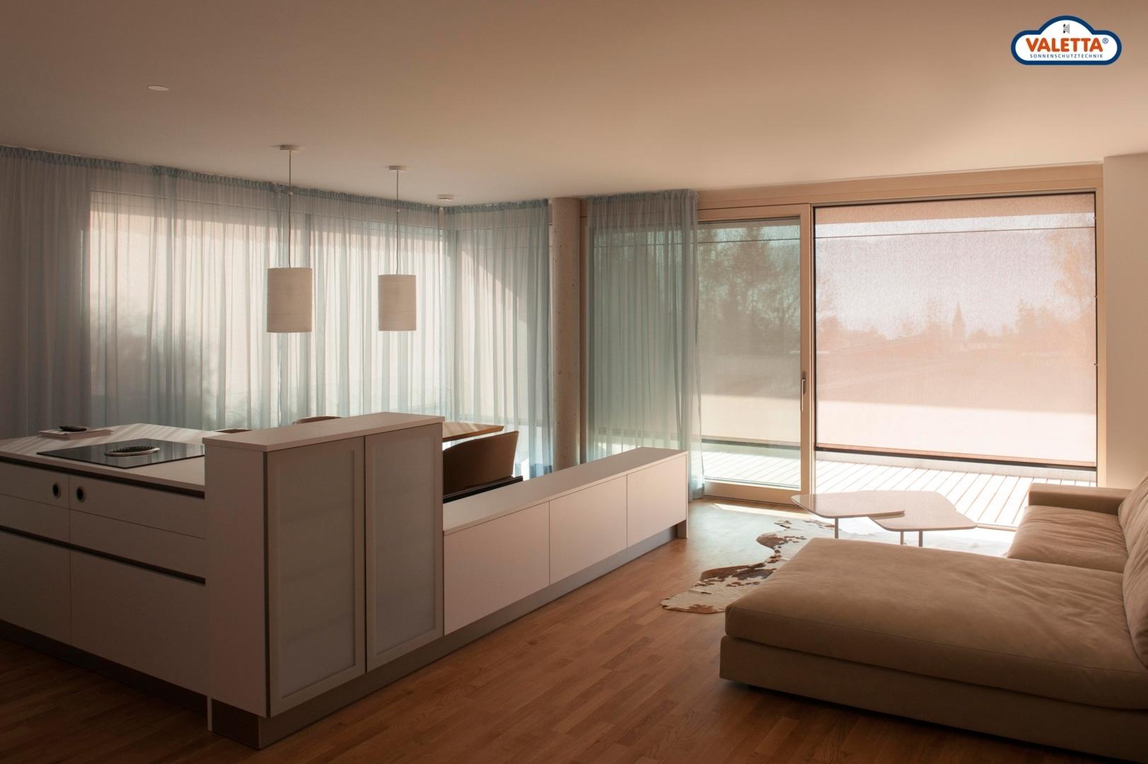 Sonnenschutz-Wohnzimmer