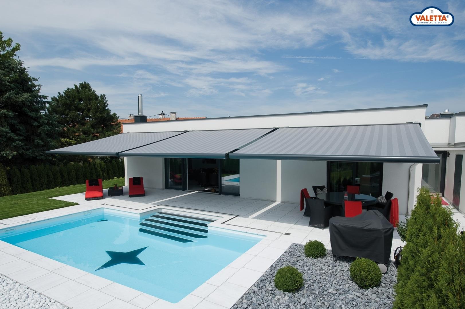 Sonnenschutz-Pool